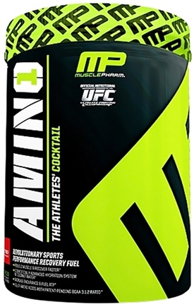 DROPPED: Muscle Pharm - Amino1 Hybrid Series Revolutionary Sports Performance Recovery Fuel Fruit Punch - 32 Serving(s)