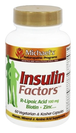 DROPPED: Michael's Naturopathic Programs - Insulin Factors - 60 Vegetarian Capsules