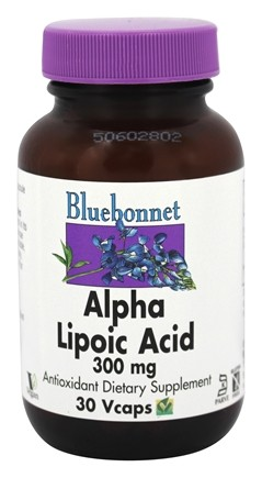 Bluebonnet Nutrition - Alpha Lipoic Acid 300 mg. - 30 VCap(s)