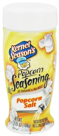 DROPPED: Kernel Season's - All Natural Popcorn Seasoning Popcorn Salt - 3.75 oz.