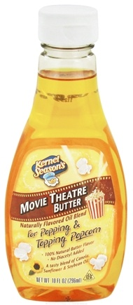 DROPPED: Kernel Season's - Naturally Flavored Movie Theatre Butter Popcorn Oil - 10 oz.