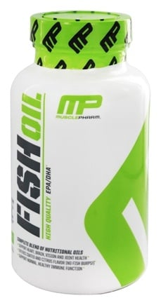 Muscle Pharm - Fish Oil Core Series High Quality EPA/DHA - 90 Softgels