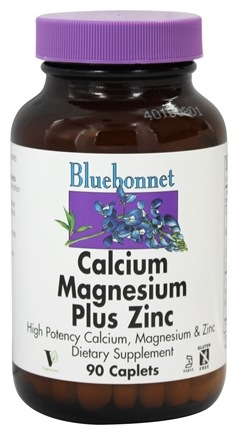 DROPPED: Bluebonnet Nutrition - Calcium Magnesium plus Zinc - 90 Caplets