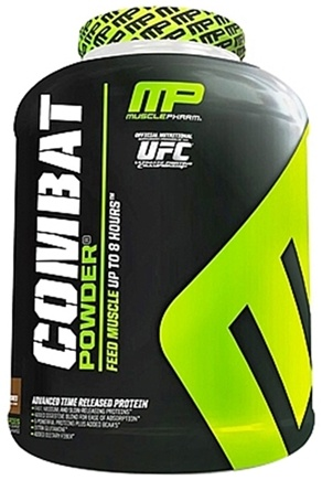 DROPPED: Muscle Pharm - Combat Advanced Time Release Protein Powder S'Mores - 4 lbs. CLEARANCE PRICED