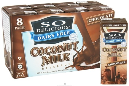 DROPPED: So Delicious - Dairy Free Coconut Milk Beverage Chocolate - 8 Pack