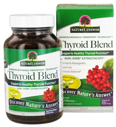 Nature's Answer - Thyroid Complete Extractacaps - 90 Vegetarian Capsules