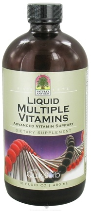 DROPPED: Nature's Answer - Liquid Multiple Vitamins - 16 oz.