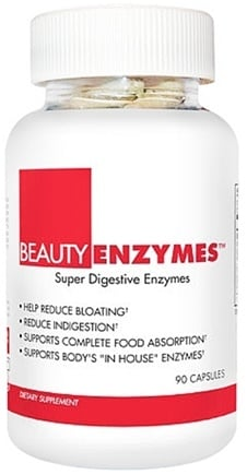 DROPPED: BeautyFit - BeautyEnzymes Super Digestive Enzymes - 90 Capsules CLEARANCE PRICED