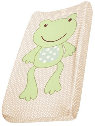 DROPPED: Summer Infant - Change Pad Pals Changing Pad Cover Frog