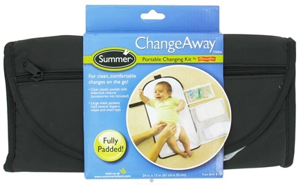 DROPPED: Summer Infant - ChangeAway Portable Changing Kit by Kiddopotamus - CLEARANCE PRICED