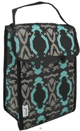 DROPPED: Blue Avocado - Lunch Bag Plus Black Baroque - CLEARANCE PRICED