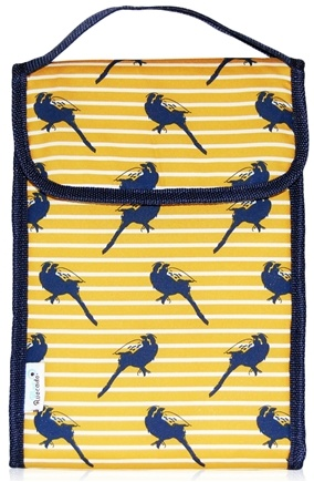 DROPPED: Blue Avocado - Lunch Bag Plus Yellow Birds - CLEARANCE PRICED