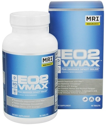 DROPPED: MRI: Medical Research Institute - EO2 VMAX  Peak Endurance Capacity Builder - 90 Tablets CLEARANCE PRICED