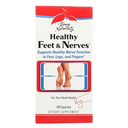 EuroPharma - Terry Naturally Healthy Feet & Nerves - 120 Capsules