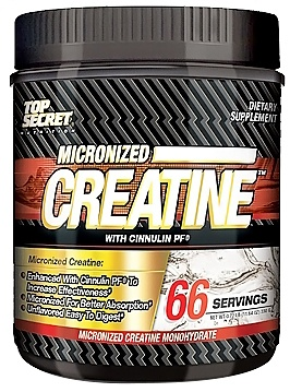 DROPPED: Top Secret Nutrition - Micronized Creatine Monohydrate with Cinnulin PF - 66 Servings - 11.64 oz.