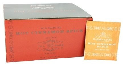 Harney & Sons - Hot Cinnamon Spice - 50 Tea Bags