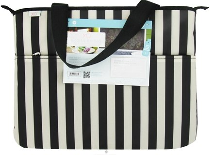 XO Eco - (ECO) Laptop Bag Tuxedo Stripe - CLEARANCE PRICED
