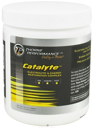 DROPPED: Thorne Performance - Catalyte Electrolyte and Energy Restoration Complex - 10.2 oz.