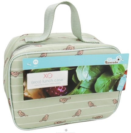 XO Eco - (ECO) Lunch Case Birds On A Wire - CLEARANCE PRICED