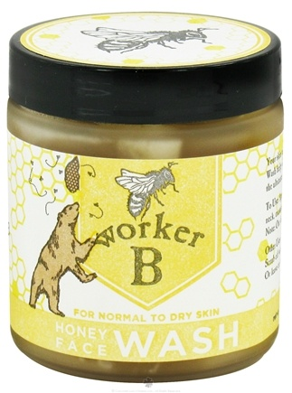 DROPPED: Worker B - Honey Face Wash For Normal To Dry Skin - 5 oz.