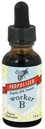 DROPPED: Worker B - Propolizer Propolis 50% Tincture - 1 oz. CLEARANCE PRICED