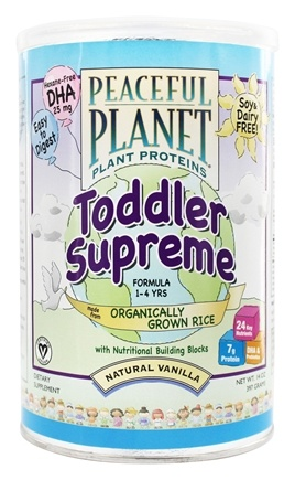 VegLife - Peaceful Planet Plant Proteins Toddler Supreme Formula - 14 oz.