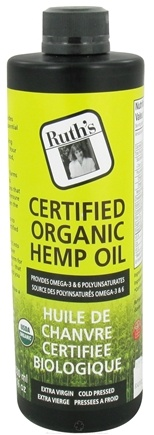 DROPPED: Ruth's Hemp Foods - Certified Organic Hemp Oil - 16 oz.