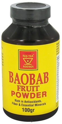 DROPPED: African Red Tea Imports - Baobab Fruit Powder - 100 Grams CLEARANCE PRICED