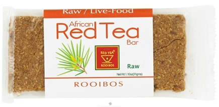 DROPPED: African Red Tea Imports - Raw Live Food Rooibos Bar - 1.1 oz.