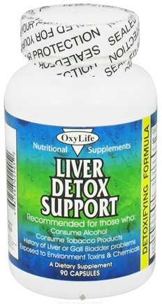 DROPPED: OxyLife Products - Live Detox Support - 90 Capsules CLEARANCE PRICED