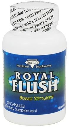 DROPPED: OxyLife Products - Royal Flush - 60 Capsules CLEARANCE PRICED