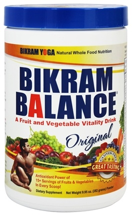 DROPPED: Bikram Balance - Fruit and Vegetable Vitality Drink Original Flavor - 10 oz.