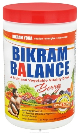 DROPPED: Bikram Balance - Fruit and Vegetable Vitality Drink Berry Flavor - 10 oz. CLEARANCE PRICED