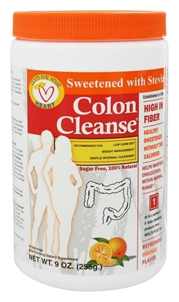 DROPPED: Health Plus - Colon Cleanse with Stevia Refreshing Orange Flavor - 9 oz.