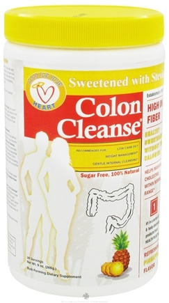 DROPPED: Health Plus - Colon Cleanse with Stevia Refreshing Pineapple Flavor - 9 oz. CLEARANCED PRICED
