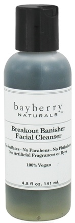 DROPPED: Bayberry Naturals - Facial Cleanser Breakout Banisher - 4.8 oz. CLEARANCED PRICED