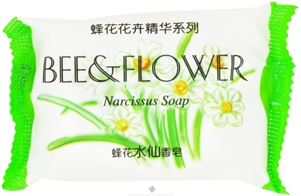 DROPPED: Bee & Flower Soap - Narcissus Soap - 75 Grams