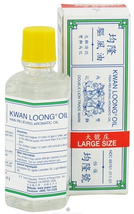 DROPPED: Prince of Peace - Kwan Loong Oil - 1 oz. CLEARANCE PRICED