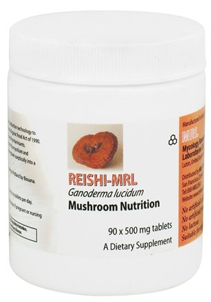 DROPPED: Prince of Peace - Reishi-MRL Mushroom Nutrition 500 mg. - 90 Tablets CLEARANCE PRICED
