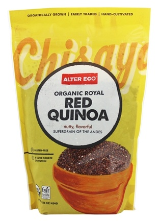 Alter Eco - Organic Royal Red Quinoa - 1 lb.