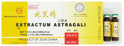 DROPPED: Superior Trading Company - Extractum Astragali for Tea - 10 x 10 cc Vials