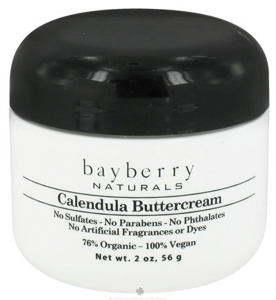 DROPPED: Bayberry Naturals - Calendula Buttercream - 2 oz. CLEARANCED PRICED