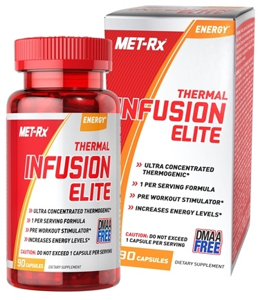 DROPPED: MET-Rx - Thermal Infusion Elite - 90 Capsules CLEARANCE PRICED