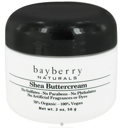 DROPPED: Bayberry Naturals - Shea Buttercream - 2 oz. CLEARANCED PRICED