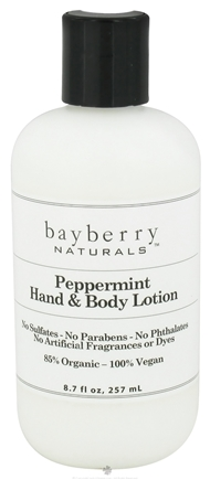 DROPPED: Bayberry Naturals - Hand & Body Lotion Peppermint - 8.7 oz. CLEARANCED PRICED