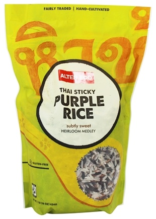 Alter Eco - Organic Purple Jasmine Rice - 1 lb.