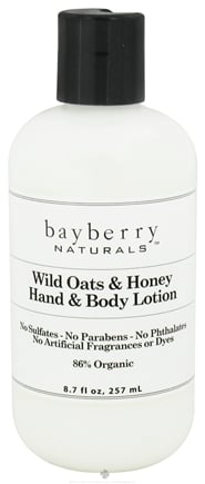 DROPPED: Bayberry Naturals - Hand & Body Lotion Wild Oats & Honey - 8.7 oz. CLEARANCED PRICED