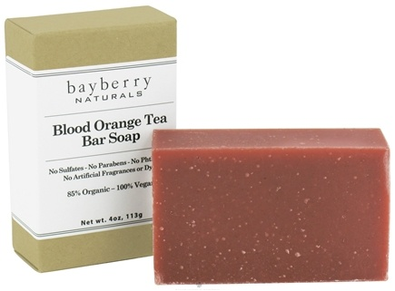DROPPED: Bayberry Naturals - Bar Soap Blood Orange Tea - 4 oz. CLEARANCED PRICED