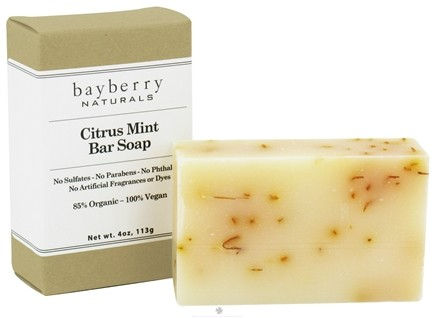 DROPPED: Bayberry Naturals - Bar Soap Citrus Mint - 4 oz. CLEARANCED PRICED