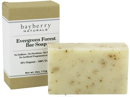 DROPPED: Bayberry Naturals - Bar Soap Evergreen Forest - 4 oz.